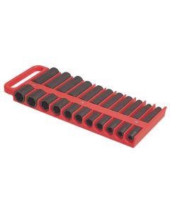 """1/2"""" Drive Red Magnetic Socket Holder"""