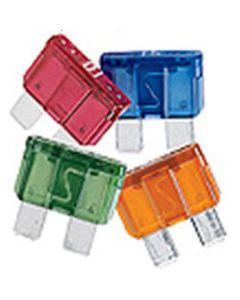 25 Amp Fast Acting Blade Fuse, Clear 32V