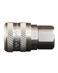 "1/4"" NPT Female ARO A-Style Interchange Coupler"