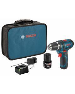 """12V Max 3/8"""" Drill Driver Kit w/ (2) 2.0Ah Batteries"""