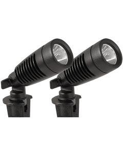 Moonrays Outdoor Landscape 1-Watt LED Metal Spot Light Fixture (Each)