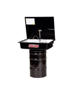 CleanMaster Drum Mounted Parts Washer With Drawn Sink, 16 Gallon