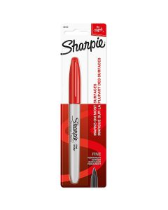 Sharpie Fine Point Permanent Marker, Red