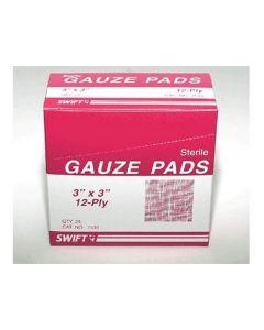 "Gauze Pad 3"" x 3"" (Pack of 25)"