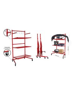 Body Shop Rack with 3 Shelves