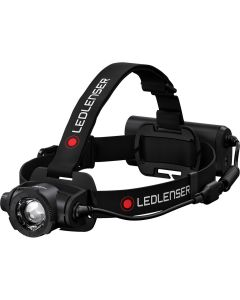 H15R Core Recharge Headlamp, 2500 lumens (boost), 1000 lumens for 5 hours (high), 20 lumens for 80 hours (low)