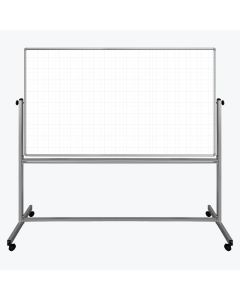 72 x 40 Mobile Double-Sided Grid Board