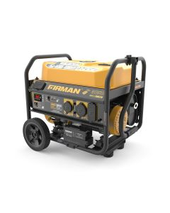 Open Frame 4650/3650W Remote Start Gasoline Powered Portable Generator with Wheel Kit