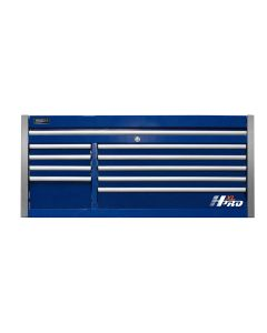 Homak Mfg. 60 in. HXL 9-Drawer Top Chest, Blue