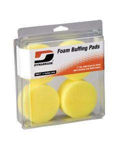 "3"" Yellow Foam Cutting Pads (Four in clear pkg.)"