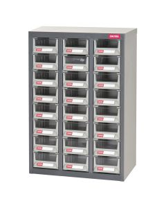 PARTS CABINET STEEL 24 DRAWERS