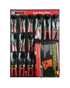 Snap Ring Pliers Display Assortment (Display Board NOT Included)