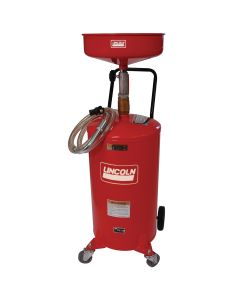 18-Gallon Steel Portable Oil Drain with Dispense Capabilities