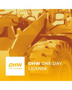 One day license of use OHW