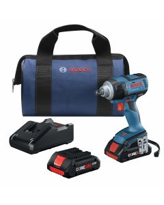 """18V Brushless 1/2"""" Mid-Torque Impact Wrench w/ (2) 4.0 Ah CORE Compact Batteries"""