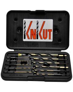 """KnKut 3/4 Fractional S&D 1/2"""" Reduced Shank Drill Bit"""