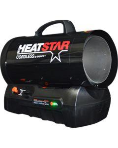 Cordless Forced Air Heater, 30-60,000 BTU/HR