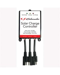Solar Charge Controller, Protects Battery from Overcharge and Discharge, for 12 Volt Solar Panels