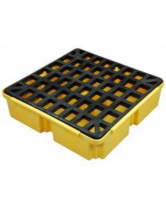 Homak Mfg. 1 Drum / 12-Gallon Sump Capacity Modular Spill Containment Platform