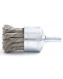 """3/4"""" Knotted Wire End Brush, .020"""