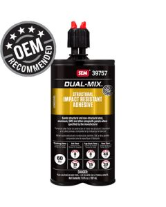 Dual-Mix Structural Impact Resistant Adhesive