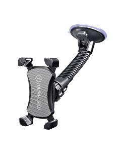 Mammoth Heavy Duty Smartphone windshield mount with claw super hold device grip for trucks and cars