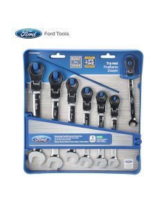 Flexible Geared Wrench 7 PC Set, Me