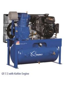 Quincy QT 10-HP 30-Gallon Two-Stage Air Compressor (10 HP Yanmar)  Horizontal