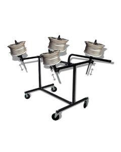 Heavy Duty Adjustable Wheel Rack