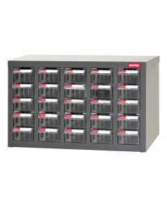 25 Drawers Parts Cabinet Steel