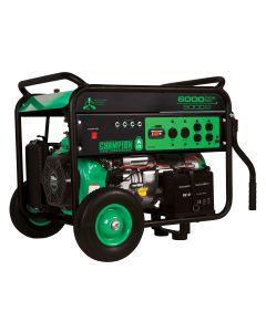Champion Power Equip. 5000/6000 Watt Portable LPG Generator with Electric Start