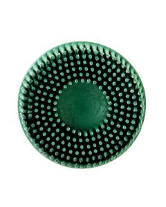 "2"" ROLOC GREEN BRISTLE DISC 50 GRIT 10PK"