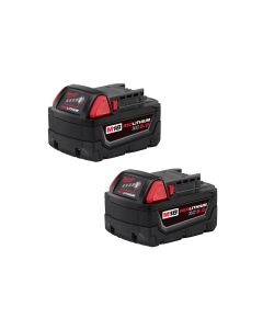2-PK OF M18 BATTERY REDLITH XC5 EXT CAP