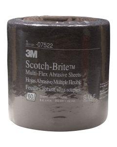 SCOTCH-BRITE ABRASIVE SHEETS UTRA-FI 60ROLL