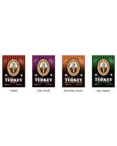 Divine Bovine Turkey Jerky (12 Pack)