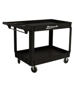 Homak Mfg. Poly Cart 30 in. x 24 in. High Impact
