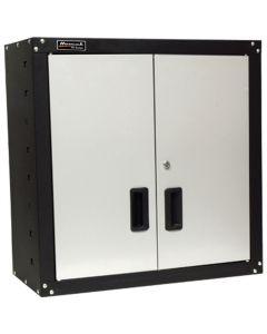 Homak Mfg. 2-Door Wall Cabinet with 2-Shelves, Steel