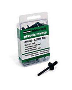 Klik-Lock Plastic Rivet 6.3mm GR.158-.236