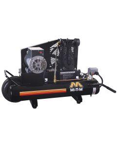 Single Stage compressor - Electric Belt Drive 8 Gallon