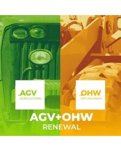 Renewal AGV + OHW 1 year license of use