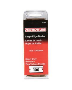 American Line .012 Heavy Duty Single Edge Blade