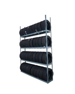 4-tier tire shelving