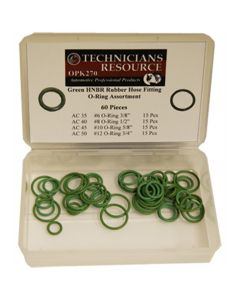 Green O-Ring Asst.(6)