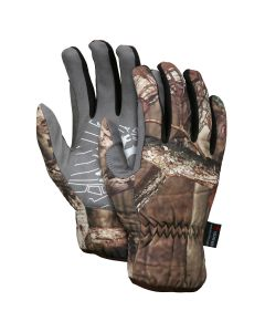 Mechanics Gloves Mossy Oak Break Up Infinity camouflage Synthetic leather palm Reinforced thumb crotch