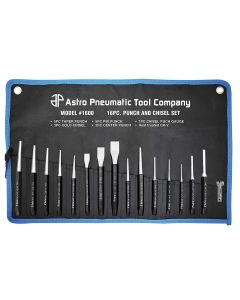 16 Piece Punch and Chisel Set
