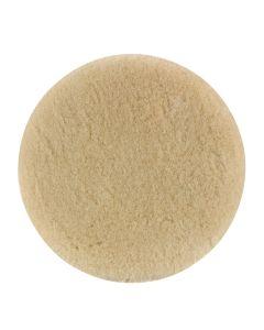 5-1/2 in. Dynacut Top Wool Polishing Pad, Hook and Loop