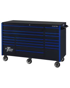 TPL Bank Roller Black, Blue-Drawer