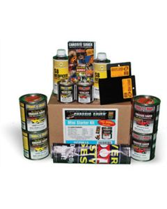 Magnet Paint & Shellac Chassis Saver Mini Starter Kit, Surface Rust Protectant