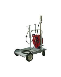 Grease Dispensing Trolley Kit w/ Hose Reel and Grease Gun (Freight Prepaid)
