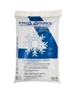Pellet-Form Ice & Snow Melter & De-Icer, 50 lb. Bag, Environmentally Safe